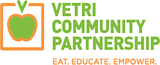Vertri Community Partnership Logo - Eat. Educate. Empower.