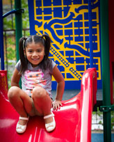 St. Vincent De Paul - Baltimore - Girl on Slide